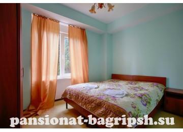 Пансионат «Багрипш», «Полулюкс 2-местный 2-комнатный»